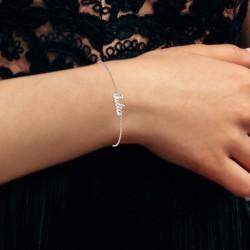 Julia name bracelet