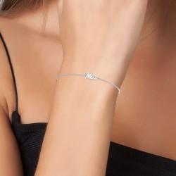Mia name bracelet
