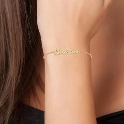 Christine name bracelet