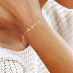 Bracelet prénom Jacqueline