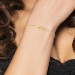 Nathalie name bracelet
