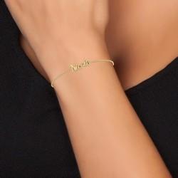 Bracelet prénom Nicole