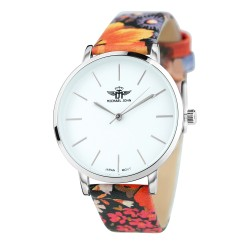 Elegante reloj de flores BR01