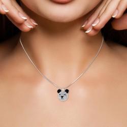 Collier panda BR01 orné de...