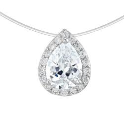 Nylon drop necklace by BR01...