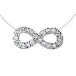 Nylon infinity necklace by...