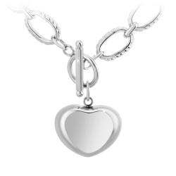 Collier cœur par BR01