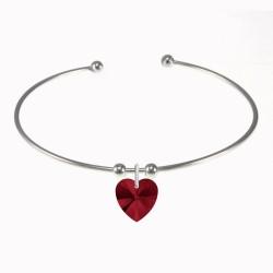 Bracelet coeur BR01 orné...