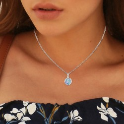 Necklace adorned with...