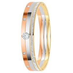 Set of 3 bracelets adorned...