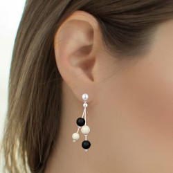 BR01 earrings decorated...