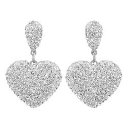 Boucles d'oreilles cœurs...