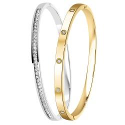 Duo de bracelets BR01 ornés...