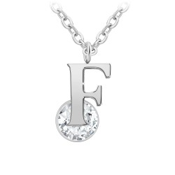Collier alphabet lettre F...