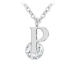 Alphabet necklace letter P...