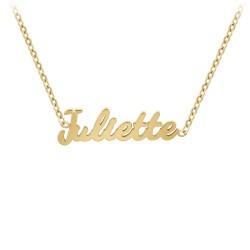 Juliette name necklace