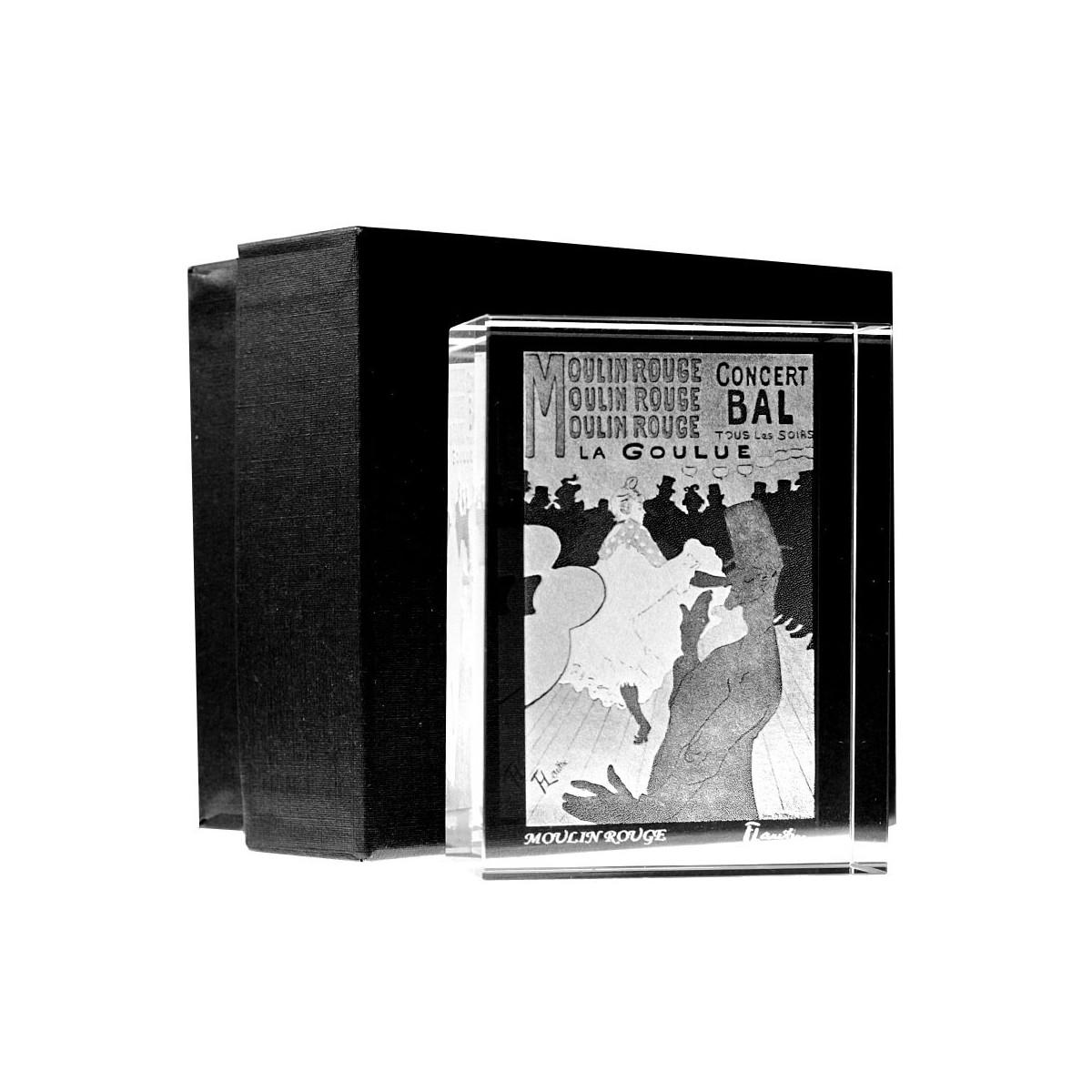 Presse papier Moulin rouge - La Goulue de Henri de Toulouse-Lautrec