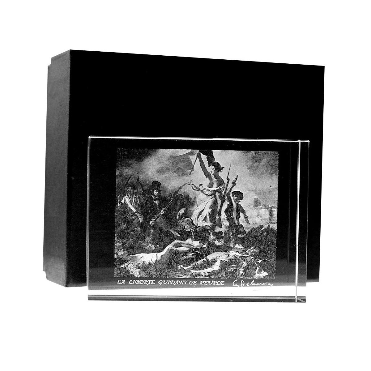 Presse papier La Liberté guidant le peuple de Eugène Delacroix