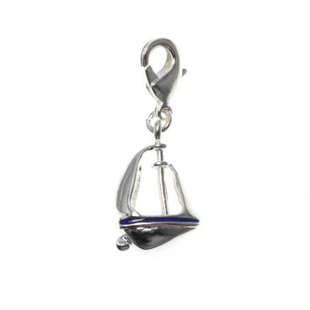 Charm bateau So Charm plaqué argent 3 microns