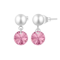 Earrings BR01 adorned with...