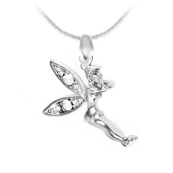 Fairy necklace adorned with...