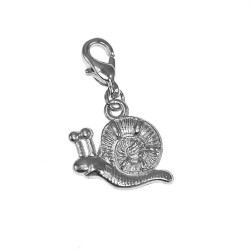 Breloque charm escargot