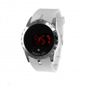 Montre LED design blanche