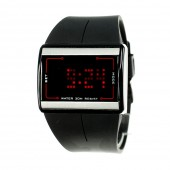 Montre LED design noire