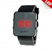 Montre LED design noir