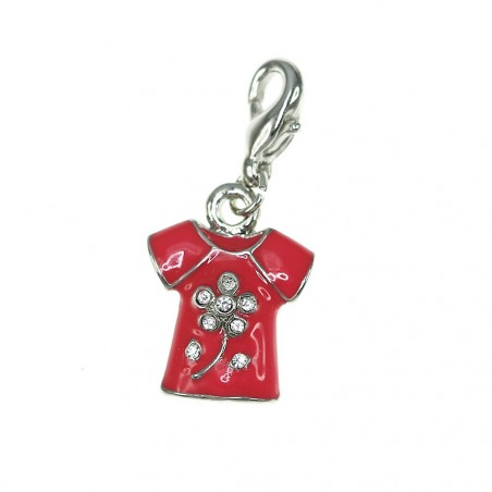 Charm t shirt rouge So Charm