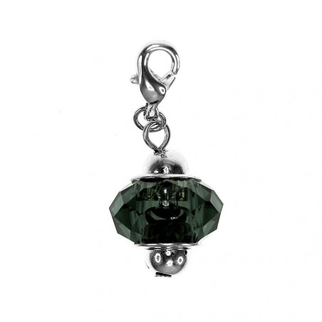 Charm fantaisie cristal noir So Charm