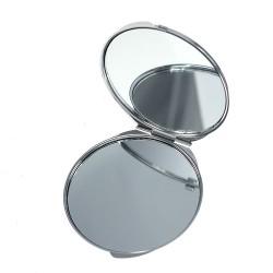 Miroir de poche décoré façon strass