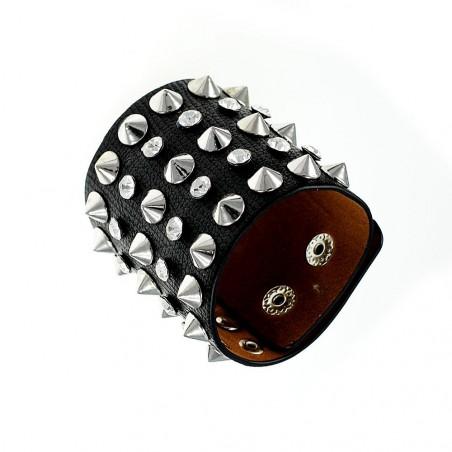 Bracelet mode à pointes