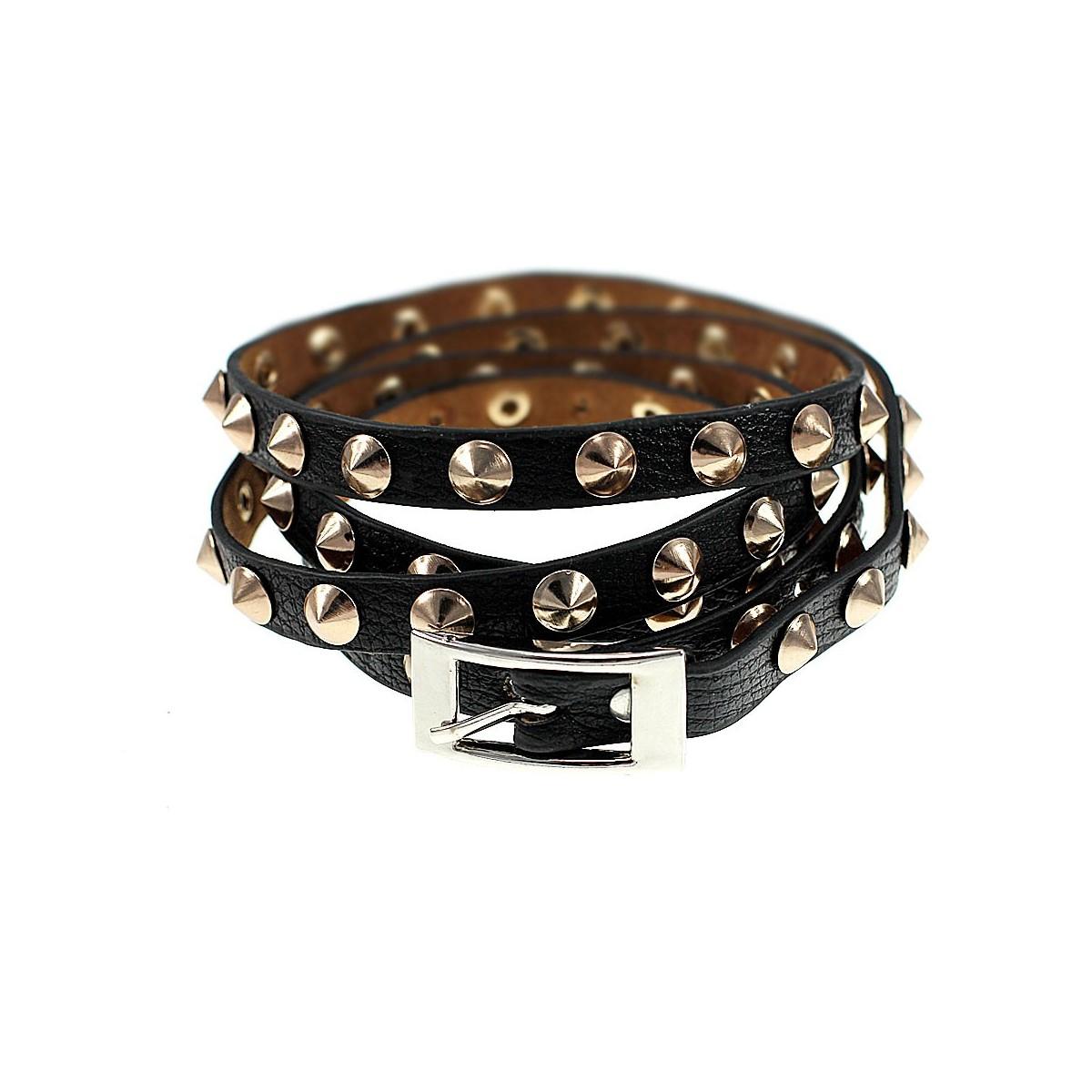 B454 Bracelet à pointes