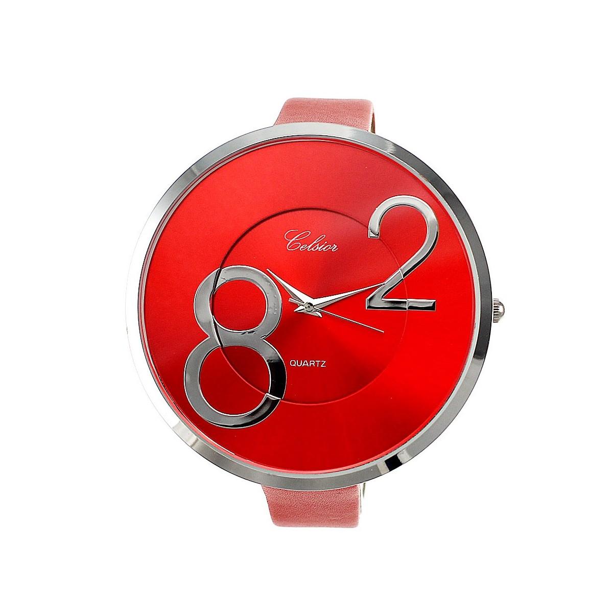 Montre mode bracelet rouge