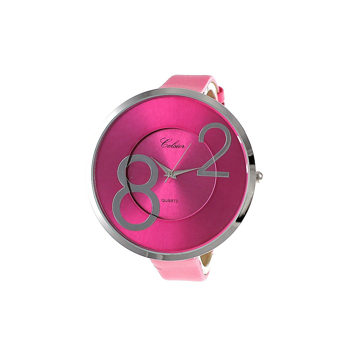 Montre mode bracelet rose