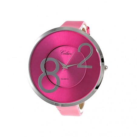 Montre mode bracelet rose