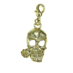 Skull charm charm with a...