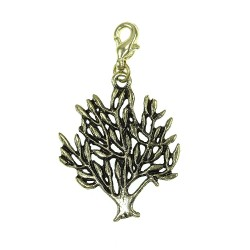 BR01 golden tree charm charm