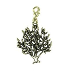 Breloque charm arbre doré BR01