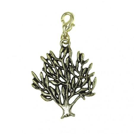 Breloque charm arbre doré So Charm