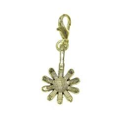BR01 golden flower charm charm