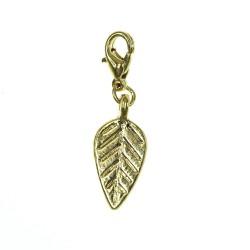 BR01 golden leaf charm charm
