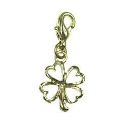 BR01 4-leaf clover charm charm