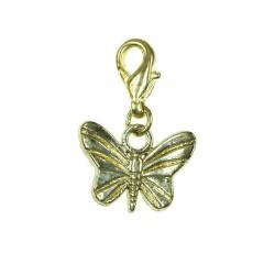 Breloque charm papillon...