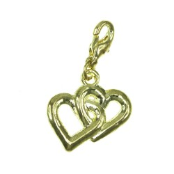 BR01 golden hearts charm charm