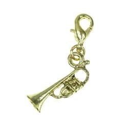 Breloque charm trompette...