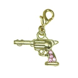 Breloque charm revolver...