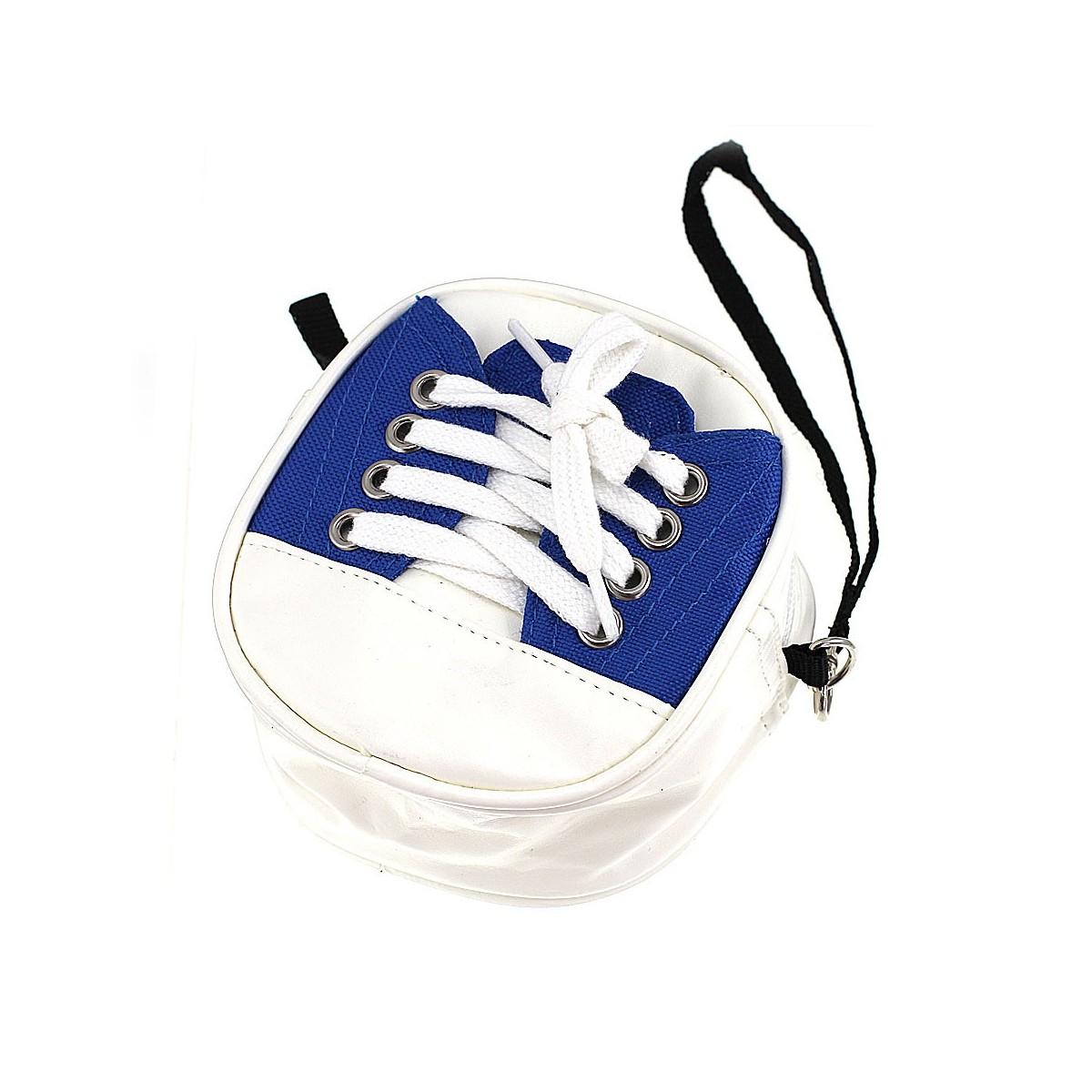 Set cirage pochette chaussure bleue