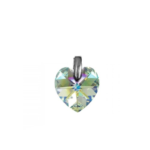 Pendentif coeur irisé So Charm made with crystal from Swarovski